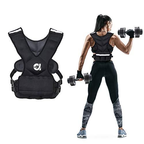 ATIVAFIT Gewichtsweste, 3.5kg(8 Pfund), 7kg (16 Pfund) Laufweste, Trainingsweste mit Gewichten für Fitness, Krafttraining, Laufen, Muskelaufbau